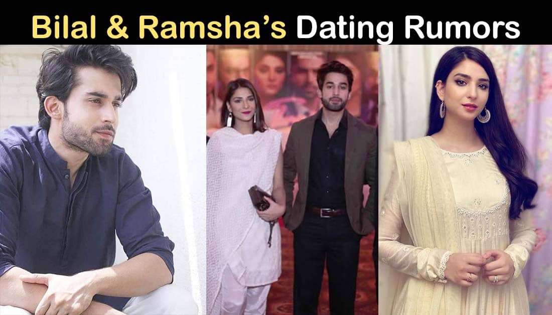 Bilal Abbas and Ramsha Khan Relationship Rumors are in Air