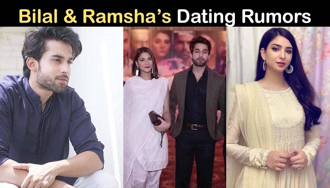 Bilal Abbas and Ramsha Khan Relationship Rumors are in Air