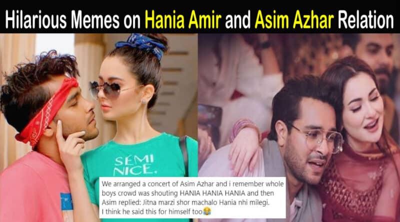 hania amir and asim azhar breakup Archives | Showbiz Hut