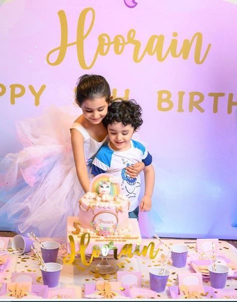 ayeza khan daughter 5th birthday