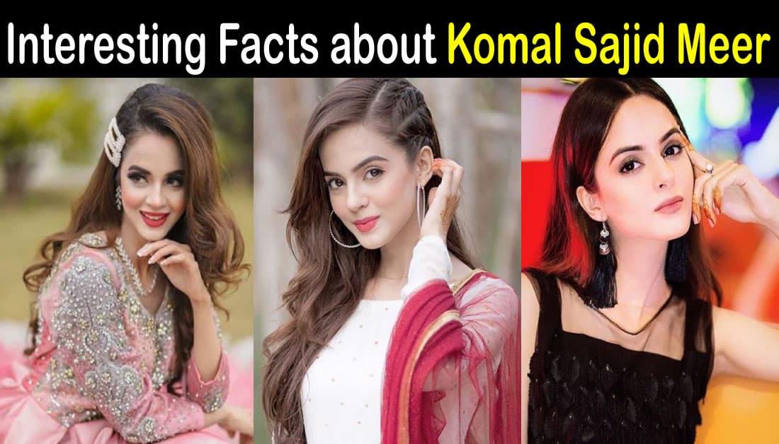 Komal Meer Biography – Age – Education – Family – Dramas – Photos