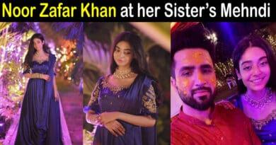 noor khan at sarah mehndi