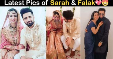 sarah khan and falak shabir wedding pics