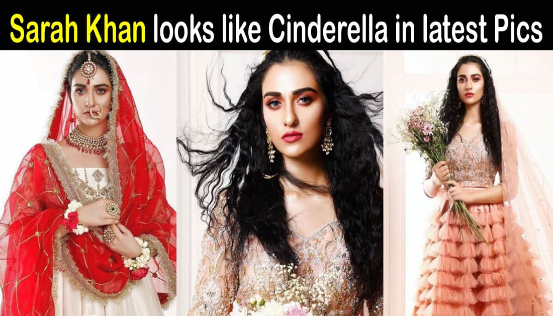 Sarah Khan latest photoshoot with a stunning look