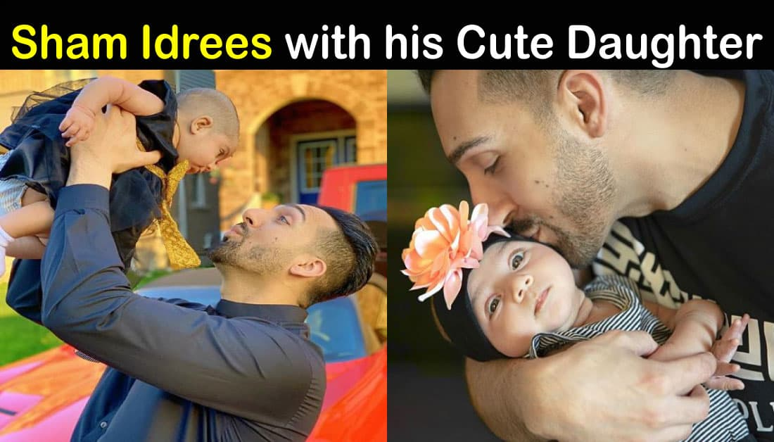Cute Pics of Sham Idrees Daughter Sierra