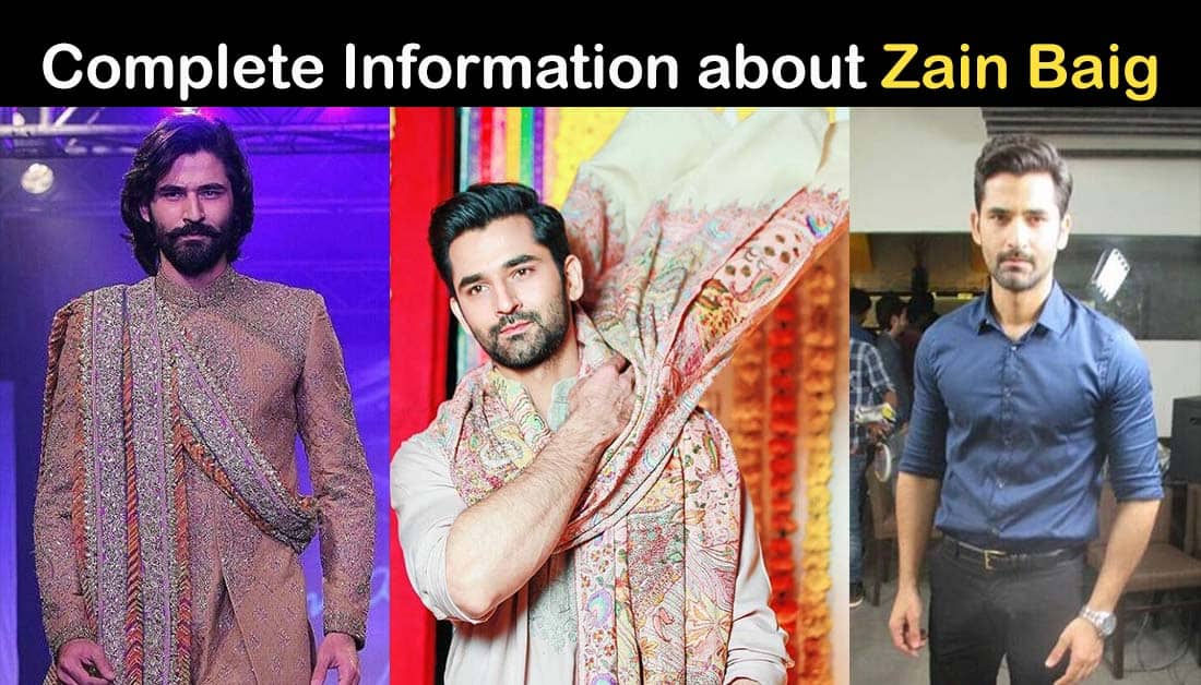 Zain Baig Biography – age – Education – Family – Dramas
