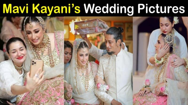 Mavi Kayani stylist Wedding Pics