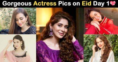 Pakistani actresses on eid 2020