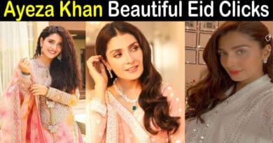 ayeza khan eid pics