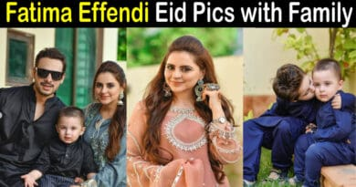 Fatima Effendi Eid Pics