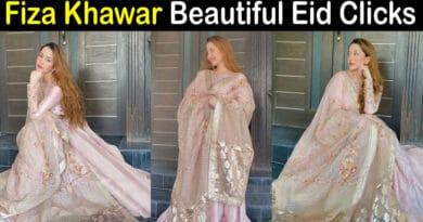 fiza khawar eid pics