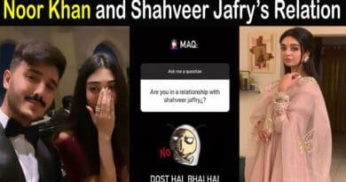 Noor Zafar Khan and Shahveer Jafry