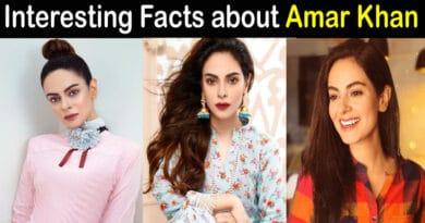 Amar Khan Biography