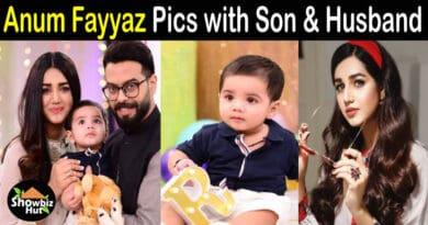 Anum Fayyaz husband Son