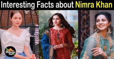 Nimra Khan Biography