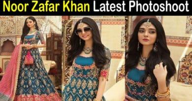 Noor Zafar Khan photoshoot