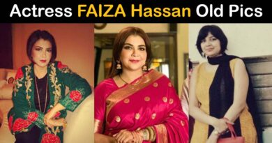 faiza Hassan old pictures