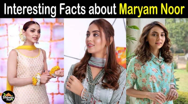 Maryam Noor Biography