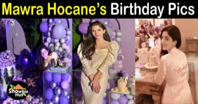 Mawra Hocane Birthday Pics