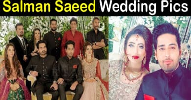 Salman Saeed Wedding Pics