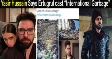 Yasir Hussain Tweet about Ertugrul