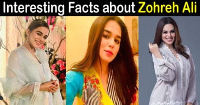 Zohreh Ali Biography