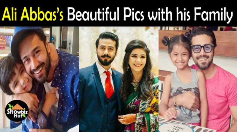 Ali Abbas Wife Pics