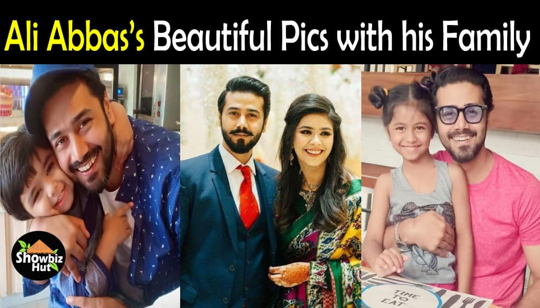 Adorable Pics of Ali Abbas with his Wife & Kids