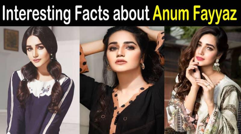 Anum Fayyaz Biography