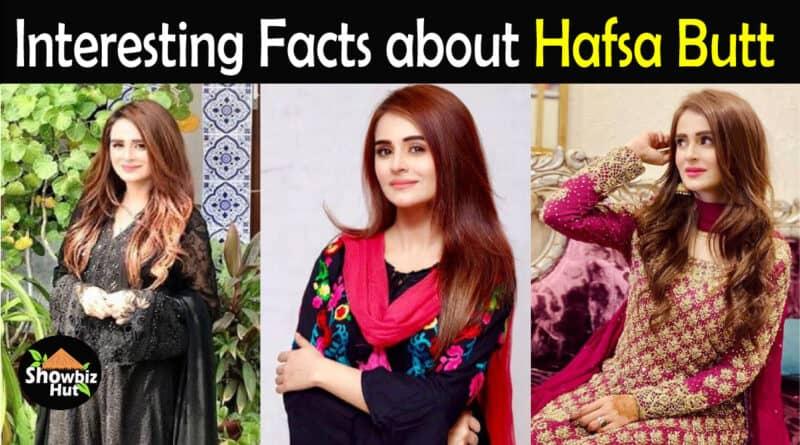 Hafsa Butt Biography