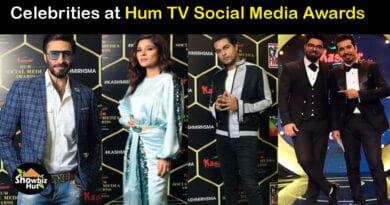 Hum TV Social Media Awards Show 2020