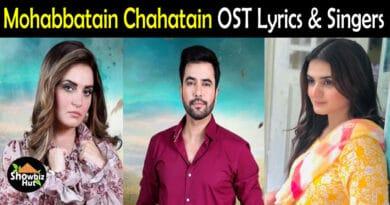 Mohabbatain Chahatain OST Lyrics