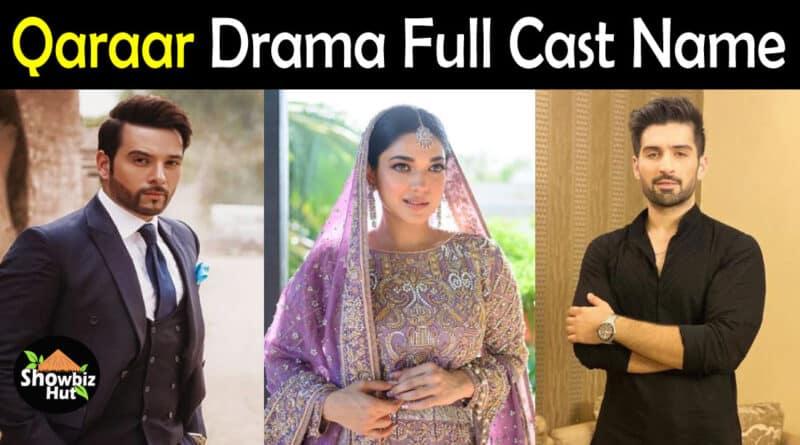Qaraar drama cast name