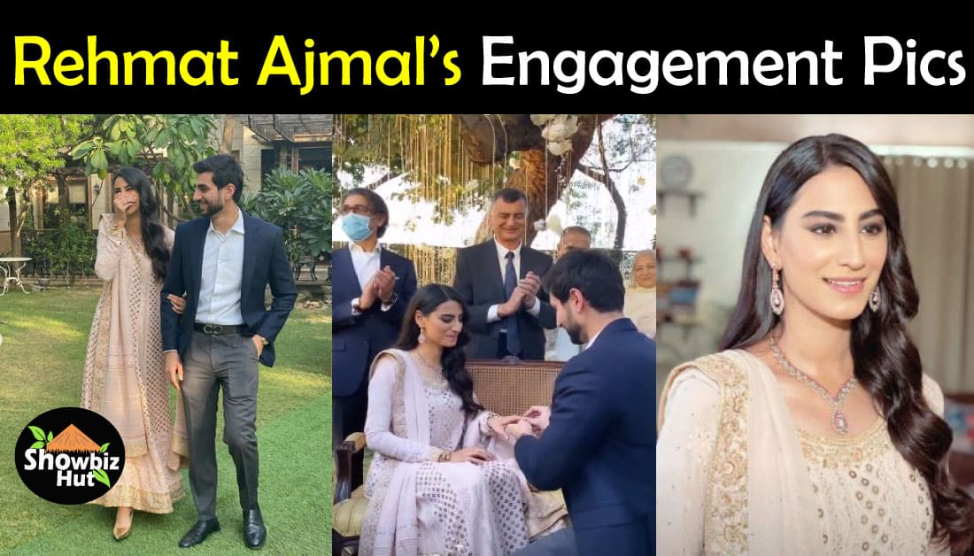 Engagement Pics of Rehmat Ajmal from a Fairytale Ceremony