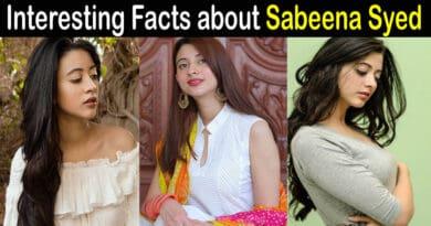 Sabeena Syed biography
