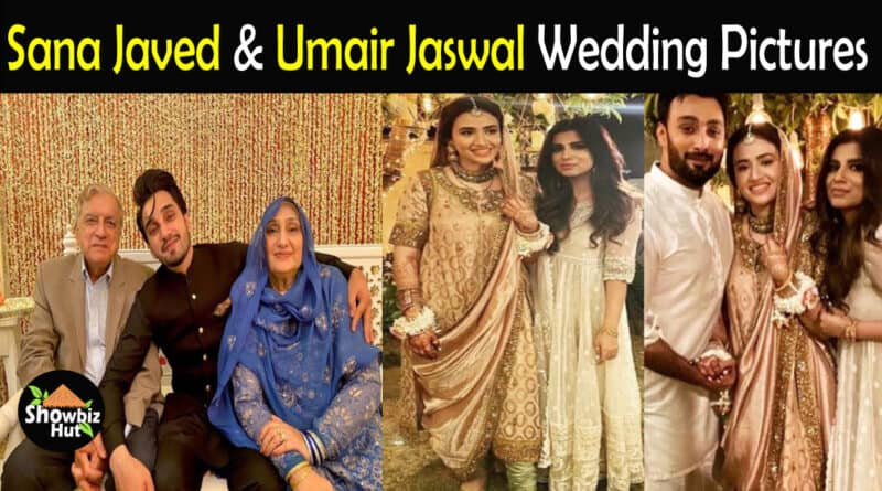 Sana Javed and Umair Jaswal Wedding