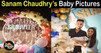 Sanam Chaudhry baby pics