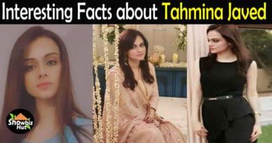 Tahmina Javed Biography