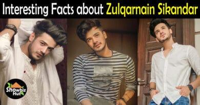 Zulqarnain Sikandar Biography