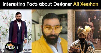 designer ali xeeshan biography
