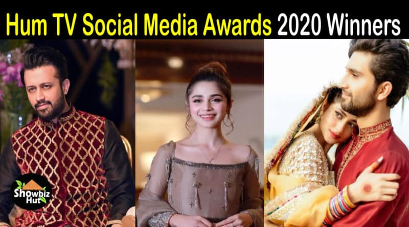 HUm TV Social Media awards winners