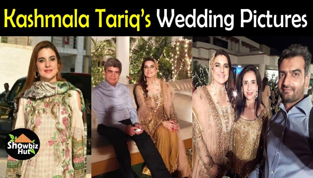 Stunning Wedding Pics of Kashmala Tariq