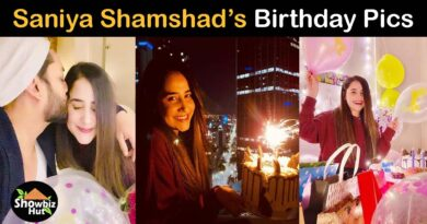 Saniya shamshad birthday pics
