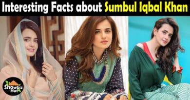 Sumbul Iqbal Biography