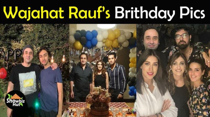 Wajahat Rauf Birthday