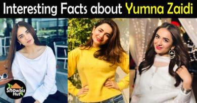 Yumna Zaidi Biography
