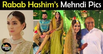 Rabab Hashim Mehndi Pics