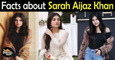Sarah Aijaz Khan Biography