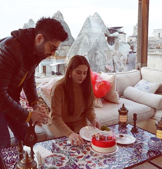 aiman khan birthday pics