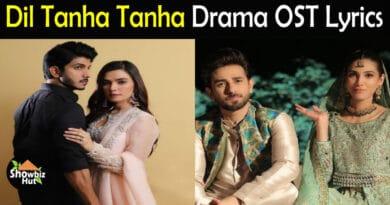 Dil Tanha Tanha OST Lyrics